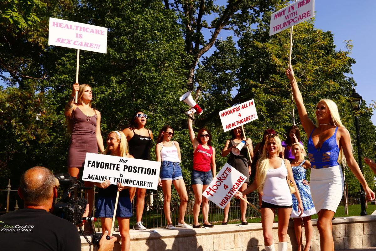 Legal Prostitutes Help Defeat Trumpcare