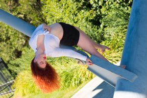 Amber Adams Arch pose