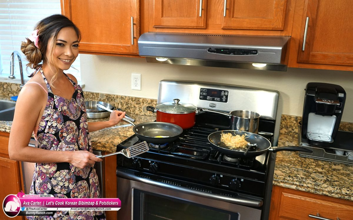 Let's Cook Korean Bibimbap & Potstickers with Ava Carter