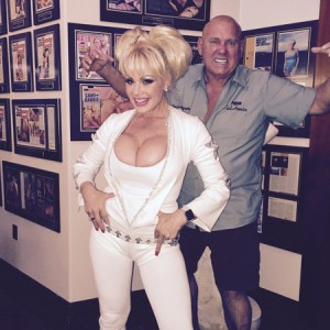 Air Force Amy and Dennis Hof
