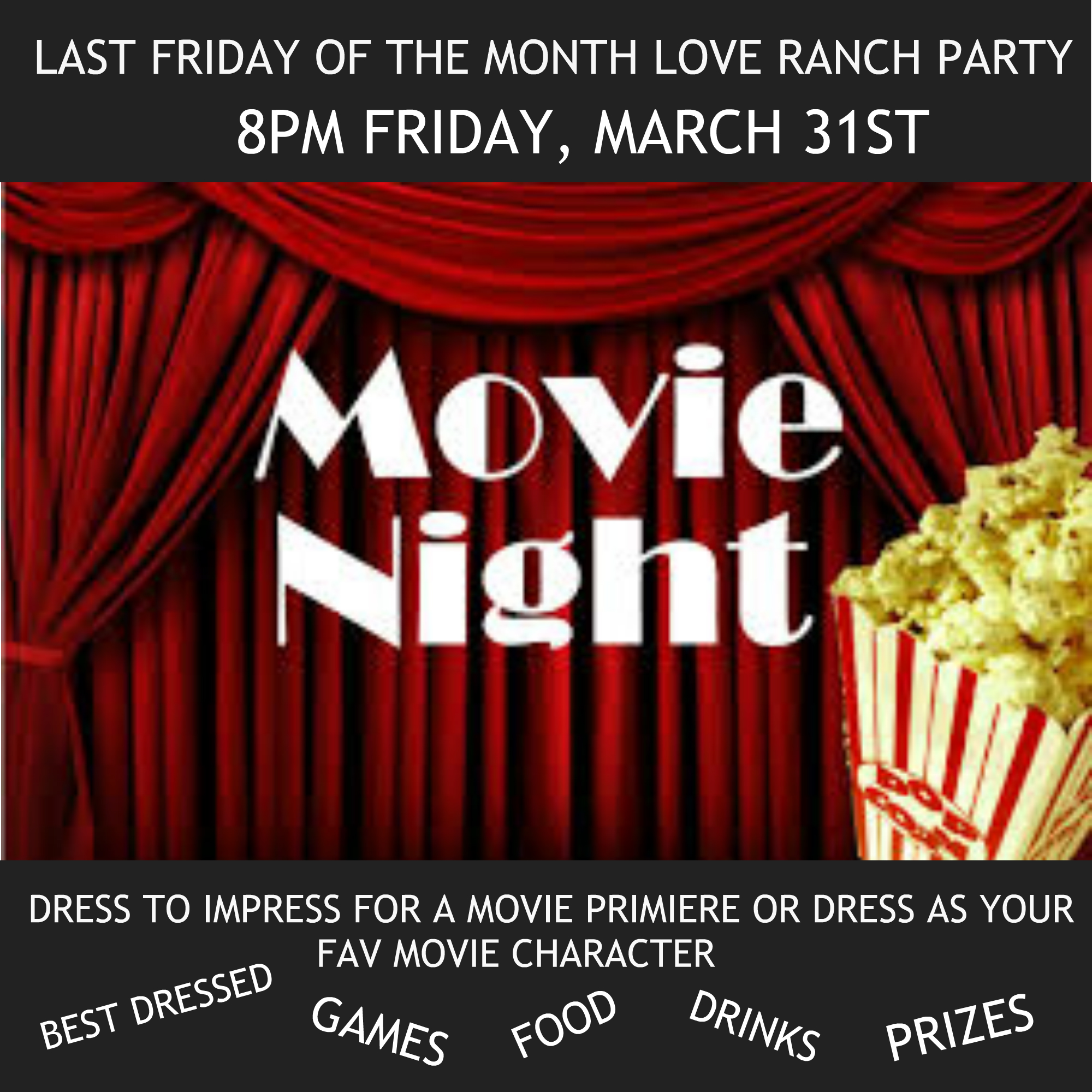 MARCH END OF THE MONTH PARTY THEME FOR LRN